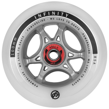 Powerslide Infinity RTR 100mm Wheels ABEC 9 Ready To Roll